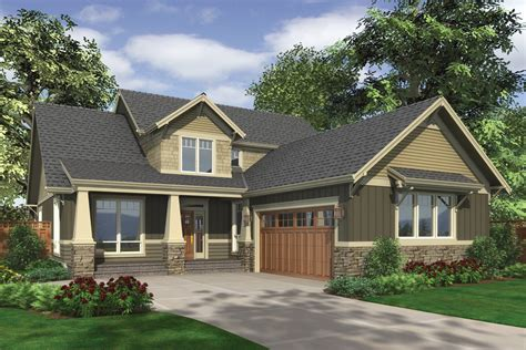 l shaped garage garage traditional with apartment above craftsman style house plan 3 beds 2 50 baths 2507 sq ft