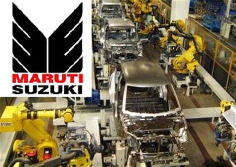 In Maruti Suzuki Plant Maruti To Gurgaon And Manesar Plants 187 Franchise Mart