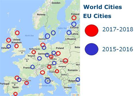 main cities of europe 9782067223783 world cities eu cities map
