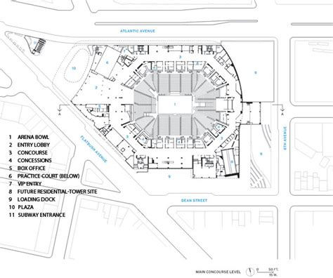 barclays center floor plan barclays center 2012 12 16 architectural record