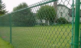 Green Trellis Fencing Chain Link Fence