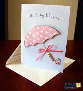 how to sign a baby shower card howgeneric