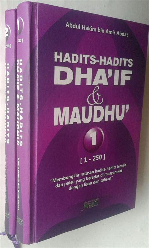 Buku Terjemah Fathul Baari 36 Jilid buku hadits hadits dhaif dan maudhu 2 jilid