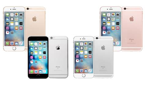 apple iphone 6 6s or 6 plus 6s plus gsm unlocked refurb b grade groupon