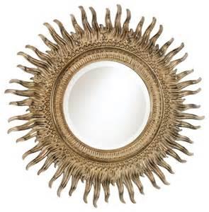 Uttermost Raindrops Mirror Sunburst Mirror Traditional Mirrors By Ethan Allen