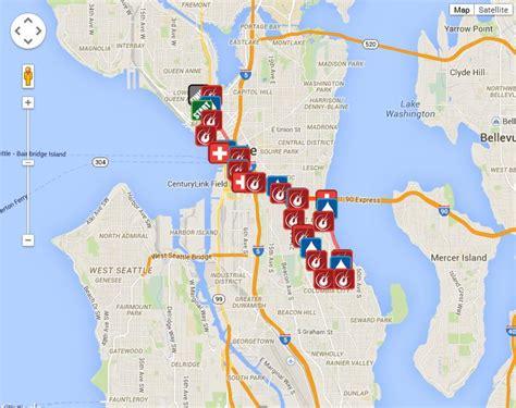 seattle map my run rock n roll seattle half marathon 2016 2017 date