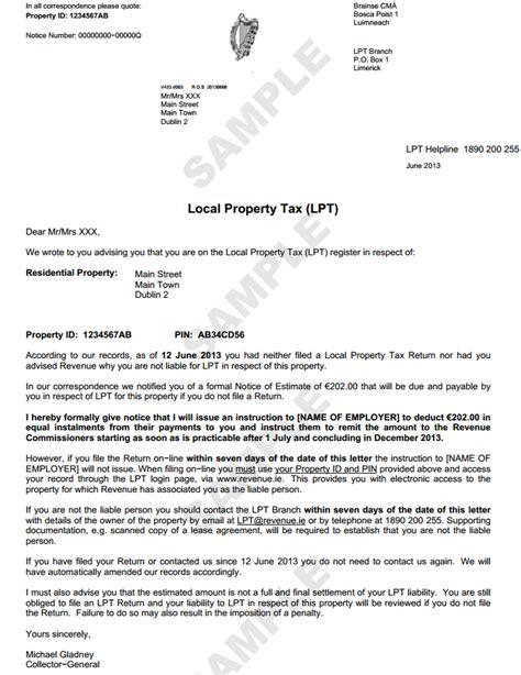 youve  paid  property tax revenue  sending