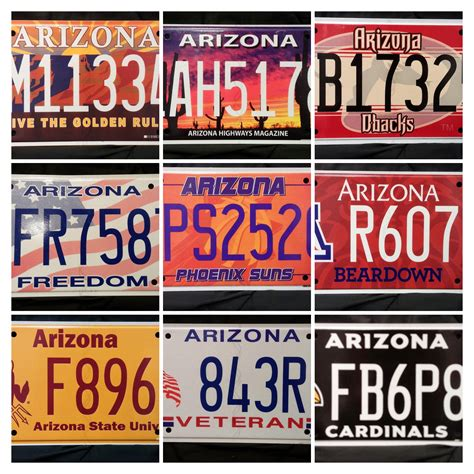 service az arizona motor vehicle services title registration plates more