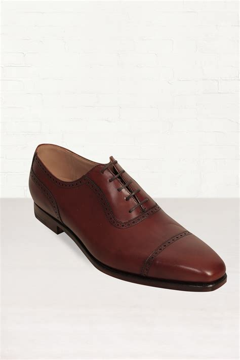 crockett and jones oxford shoes crockett jones crockett and jones westbourne brown