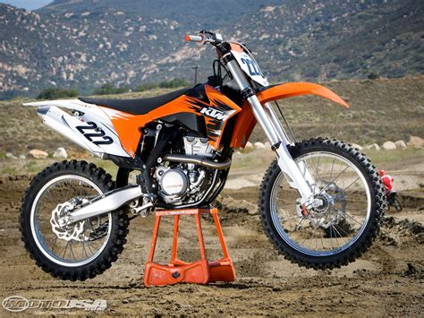 Ktm Usa Motorcycles 2011 Ktm 350 Sx F Ride Photos Motorcycle Usa
