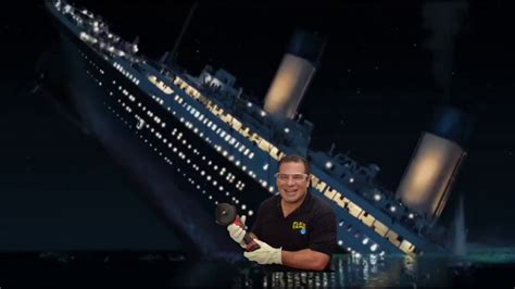 flex tape i sawed this boat in half meme phil swift sinks the titanic part 1 youtube