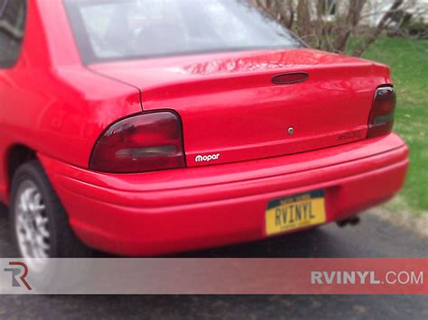 small engine maintenance and repair 1995 plymouth neon security system rtint 174 dodge neon 1995 1999 tail light tint film