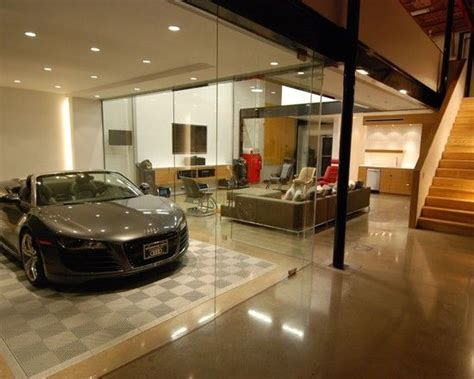 luxury garage designs amazing car showroom design with living room luxury