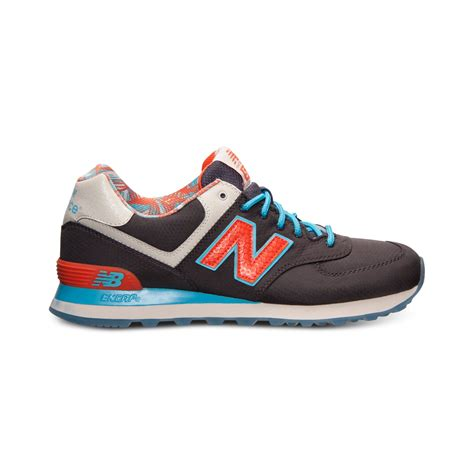 sneaker line new balance mens 574 island casual sneakers from finish