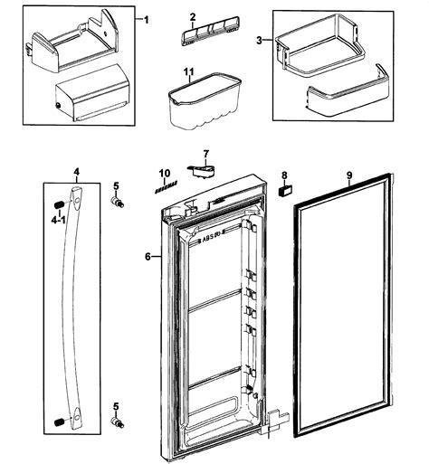 samsung refrigerator parts model rfg237aarsxaa0000 sears partsdirect