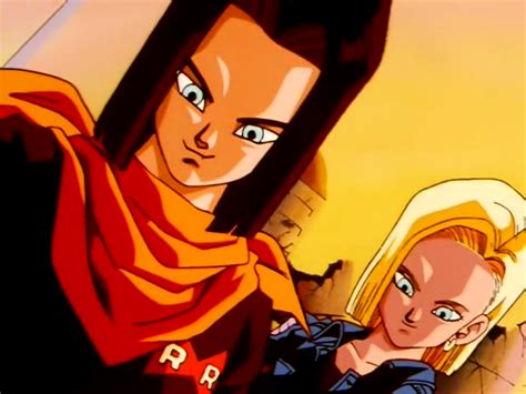 android 17 and 18 another and character fiture