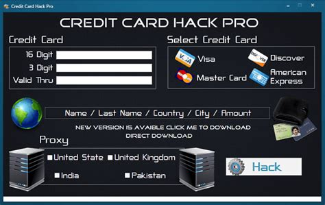 tutorial hack visa credit card hack software app credit card hack 2016