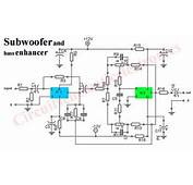 Subwoofer Booster Circuit With PCB Layout  Electronic