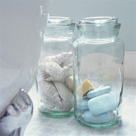 1000 Images About Glass Apothecary Jars On Pinterest Jar Bathroom Storage