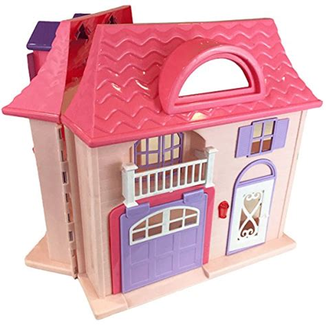a doll house play audio boley pretend play doll house toy 21 piece collapsible dollhouse a perfect children