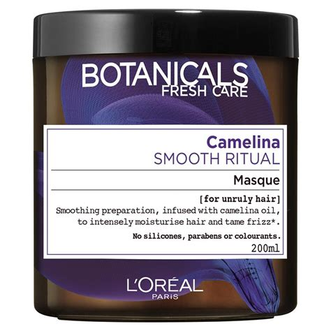 L Oreal Smooth Mask buy l oreal botanicals camelina smooth ritual mask 200ml