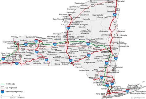map of upstate new york counties kayak