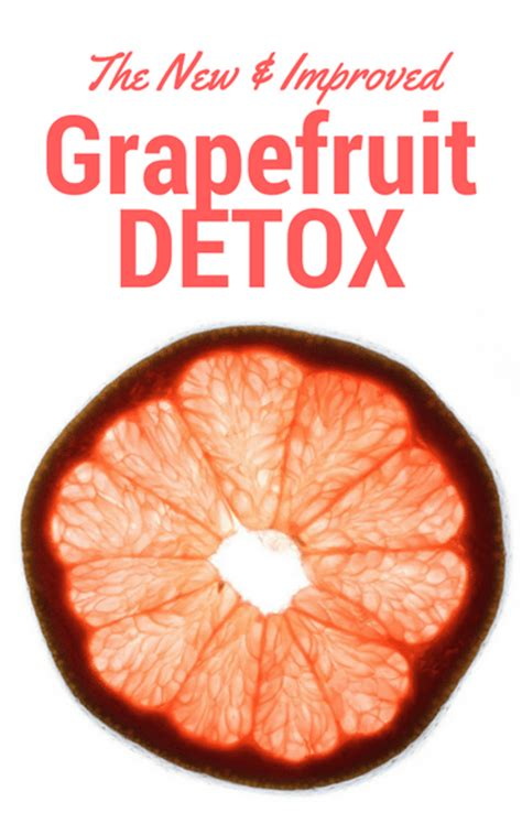2017 Grapefruit Detox Diet by Dr Oz 7 Day Grapefruit Detox Diet For Weight Loss 1 Lb