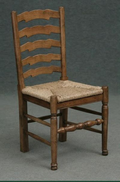 unfinished oak ladder back chairs ladder back chair made from solid oak with seat pad