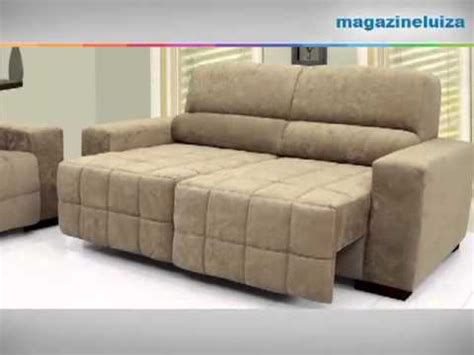 promocao de sofa no magazine luiza sof 225 3 lugares linoforte bruna youtube