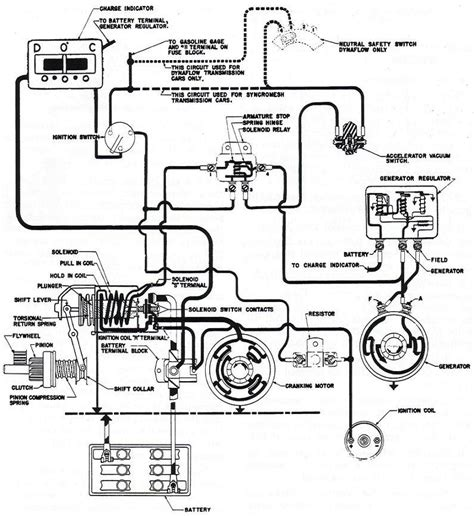 delco remy starter generator wiring diagram with ammeter
