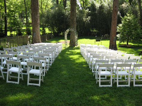 how to set up a backyard wedding 187 affordable wedding reception venues
