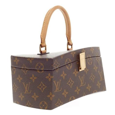 Dompet Louis Vuitton 2288 V louis vuitton limited edition frank gehry twisted box monogram canvas at 1stdibs