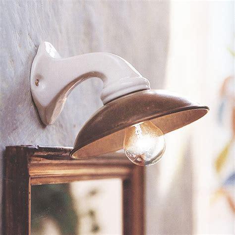 wandleuchte landhaus kleine landhaus wandleuchte aus keramik i girasoli terra