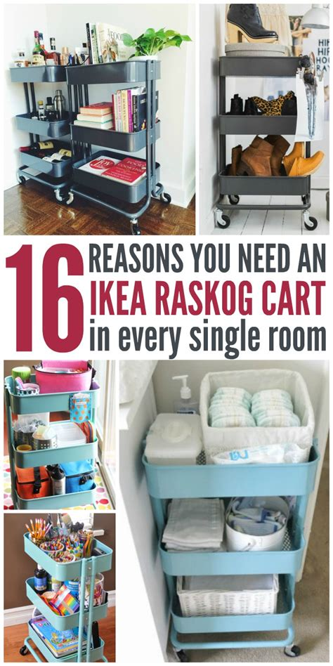 ikea raskog rolling cart 16 reasons you totally need an ikea raskog cart in every