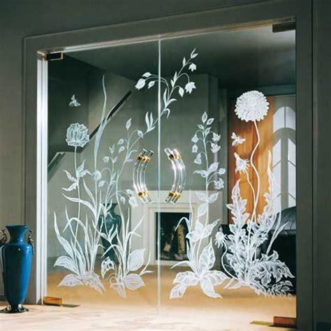 glass design flower evolution 1000 images about glass door on pinterest floral