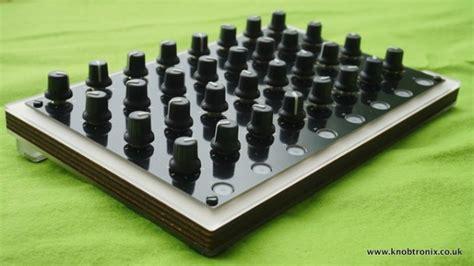 Midi Knob Controller by Kickstarter Caign For 32 Knob Midi Controller