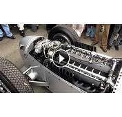Warming Up 1937 Auto Union 16 Cylinder Type C Engine