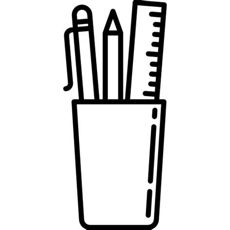 imagenes de utiles escolares a blanco y negro 250 tiles escolares iconos gratis de herramientas y utensilios