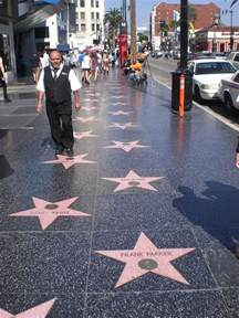 the walk of fame los angeles u s a