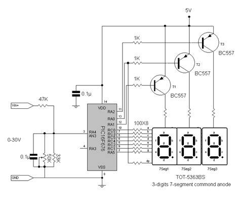 Multitester Constant voltmeter digital mini diy elektronik hobby