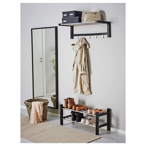 ikea hanger rack tjusig hat rack black 79 cm ikea