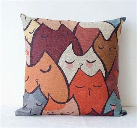creative pillow sleep cat korean sofa pillow