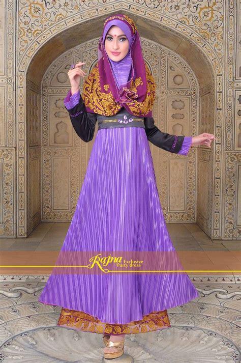 Gamis Sateen Purple 27 best gamis pesta modern images on