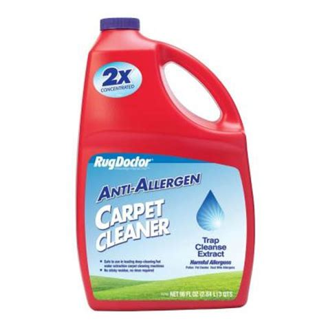 rug doctor at home depot rug doctor 96 oz anti allergen carpet cleaner 4079 the home depot
