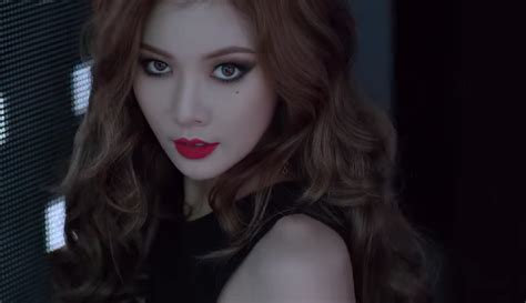 hyuna is as sexy as ever in recent photo shoot soompi hyuna is hot in tony moly cf daily k pop news