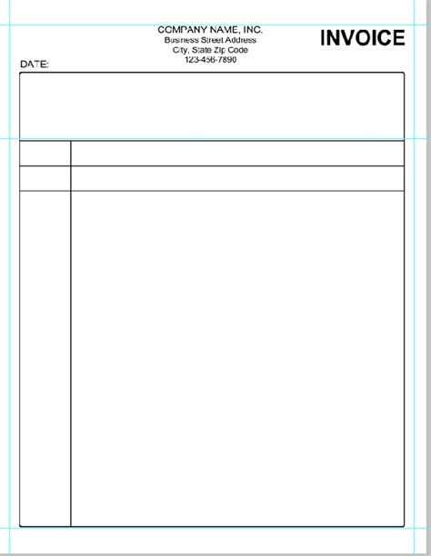 blank invoice pdf blank invoice form pdf invoice template ideas