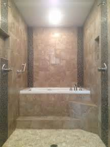 Drop In Soaker Bathtubs Master Bathroom Renovation Walk Through Dual Head Shower