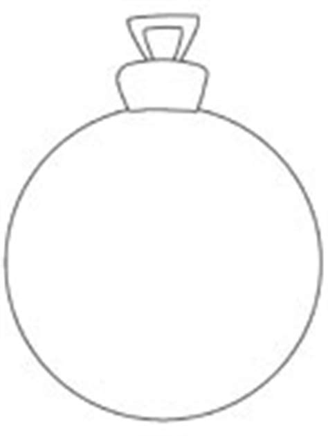 Tree Balls Outline by Ornaments Coloring Pages