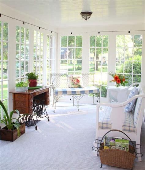 Simple Sunroom Designs 25 stunning white sunroom ideas home design and interior