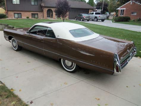 1971 Chrysler Imperial by 1971 Imperial Lebaron 2 Door Hardtop Sunroof Survivor